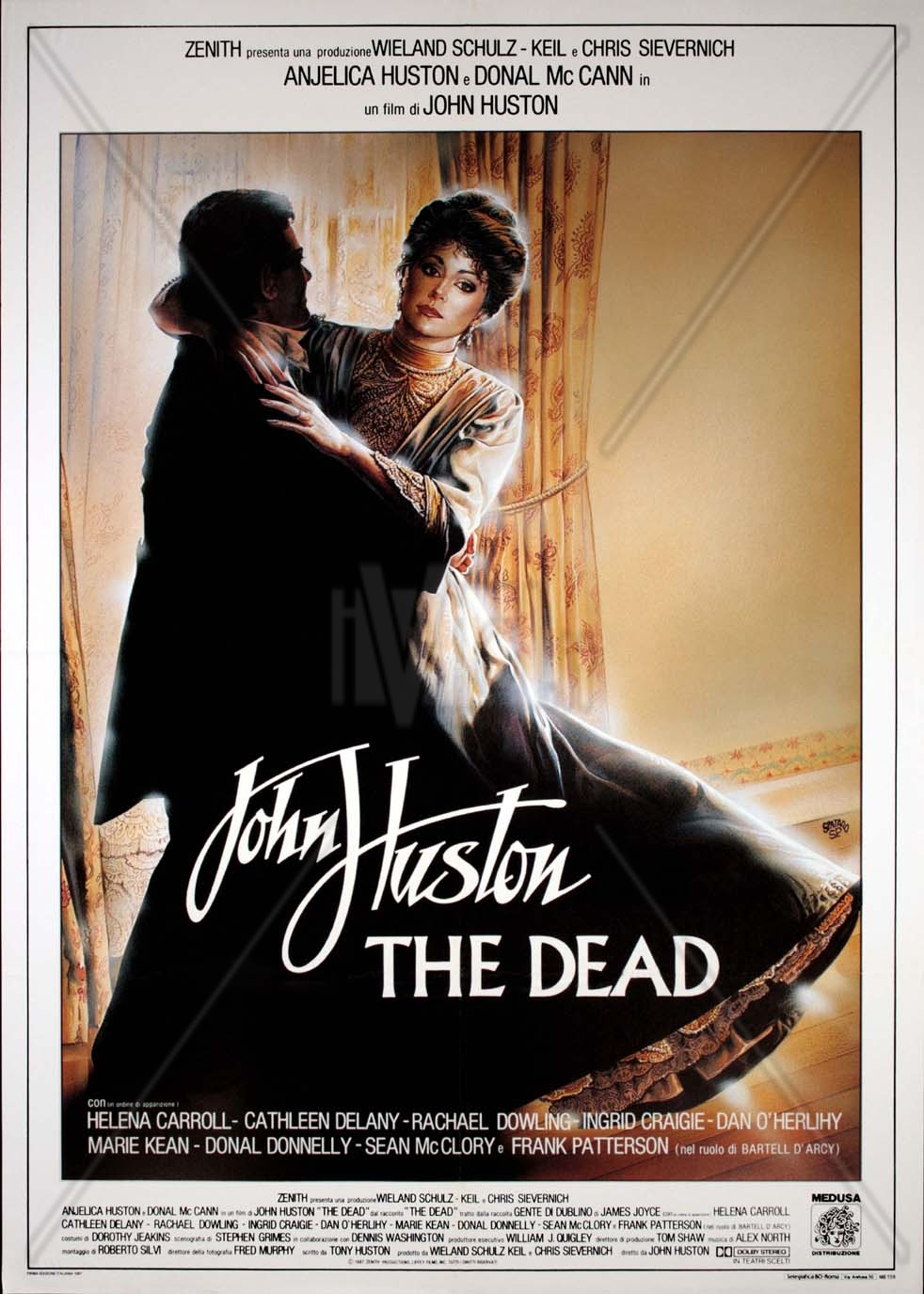 analysis of john hustons the dead Many authors use nature to analyze human nature and depict the human condition james joyce uses the snow to cast light on the characters, convey the meaning in the events and provide further analysis of the themes within the dead.