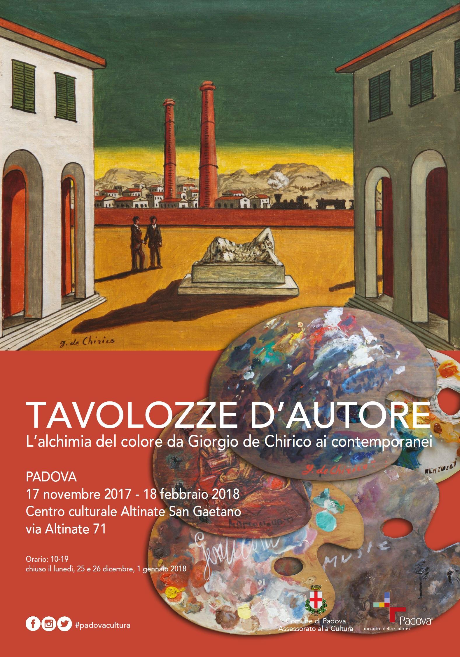 Favorito Tavolozze d'autore   Padova Cultura AJ33