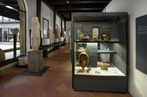 frammento di mosaico romano, I secolo d.C.