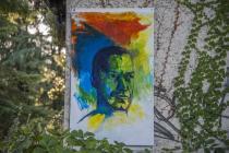 Collettiva Artisti al Muro 2014-IIIa edizione-Opera di Stefano Martignago-Foto Bardelli
