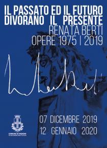 Flyer mostra di Renata Berti