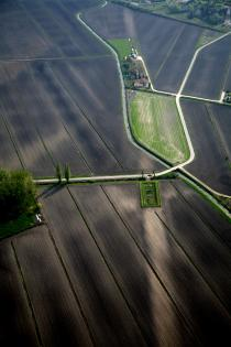 Via Annia presso Ponte Canalat, Ceggia - Foto Dipartimento di Geografia, Università di Padova