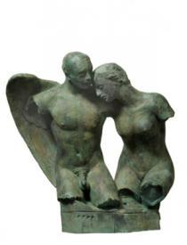 Igor Mitoraj, Il Bacio dell'Angelo, 2000c
