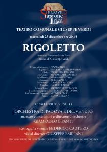 Rigoletto di G. Verdi. Stagione Lirica 2020