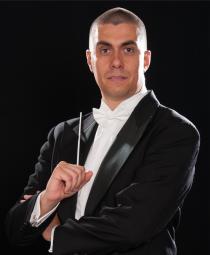 Andrea Albertin, direttore d'orchestra