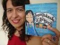 Anna Ly con il libro