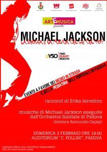 ArtEmusica 2019. Edizione speciale. MICHAEL JACKSON – La Storia e la Musica del Re del Pop