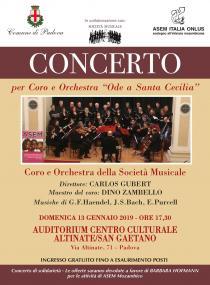 Ode a Santa Cecilia. Concerto per Coro e Orchestra
