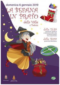 La Befana in Prato della Valle. Natale a Padova 2018-2019