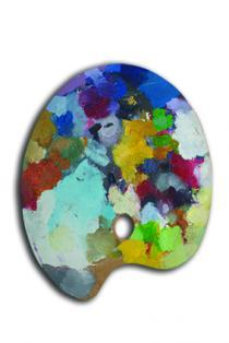 Tavolozze d'autore. L'alchimia del colore da De Chirico ai contemporanei-Braido-Tav