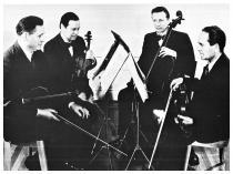 """I 100 anni della Società di Concerti """"Bartolomeo Cristofori""""-Bush quartet"""