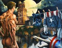 La pop art nel cuore di Padova. Personale di Alberto Volpin-Captain America