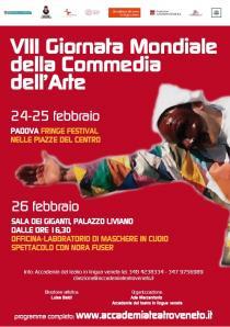 Giornata Mondiale della Commedia dell'Arte-VIII edizione 2017