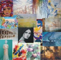 collage delle opere