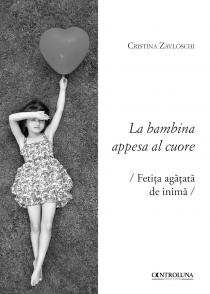 Copertina libro La bambina appesa al cuore di Cristina Zavloschi