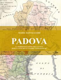 Copertina libro Padova di Mario Battaillard