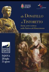 NOTTURNI D'ARTE 2016 Da Donatello a Tintoretto