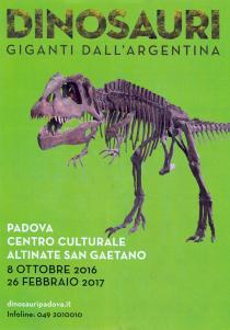 DINOSAURI. Giganti dall'Argentina. Eventi collaterali alla mostra