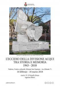 L'eccidio della Divisione Acqui tra storia e memoria. 1943-2018