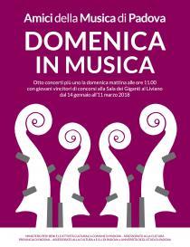 Amici della Musica di Padova-Domenica in Musica2018