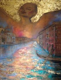 """Mostra collettiva """"ARTISTI SPA + A""""-Elisabetta Zanutto-abbraccio la nuova era 2014"""