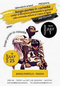 Borgo Porteo in Comedia 2021. Ciclo di eventi