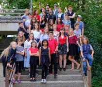 Foto del gruppo DIY a Bonn nel 2017