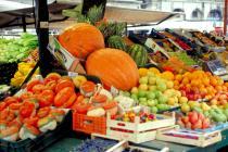 frutta in piazza