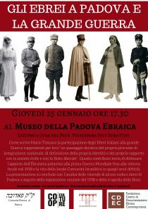 Museo della Padova Ebraica-Gli ebrei a Padova nella Grande Guerra