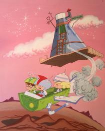 BE COMICS! Le mostre-Hanna & Barbera