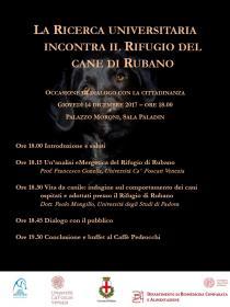 Immagine La ricerca universitaria incontra il rifugio del cane di Rubano