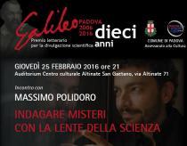 Massimo Polidoro-Conferenza Indagare misteri con la lente della scienza