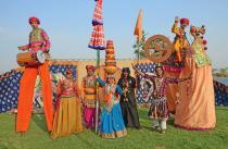 Grand Indian Circus. D & F Bros