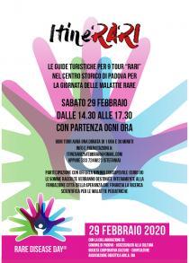 """ItineRARI. 9 tour """"rari"""" in occasione della Giornata delle malattie rare"""