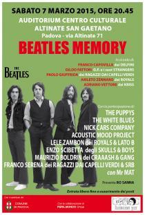 Beatles Memory 2015