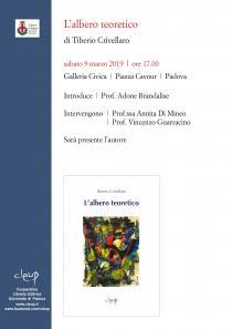 Locandina presentazione libro di Tiberio Crivellaro