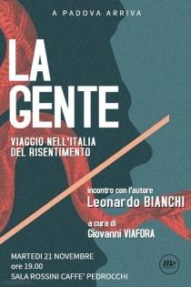 Locandina evento libro di Leonardo Bianchi web