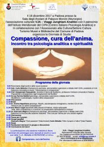 Locandina Giornata di studio Compassione cura dell'anima