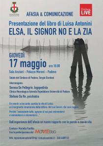 Locandina presentazione libro Elsa il signor no e la zia di Luisa Antonini.jpg