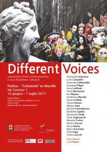 DIFFERENT VOICES. Esposizione di arte contemporanea dell'Associazione Momart