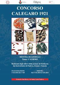 """Concorso Calegaro 1921. Mostra di gioielli a tema """"L'albero""""-locandina"""