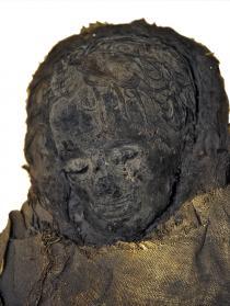 mummia della bambina Giupra