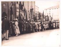 Festeggiamenti in onore della Brigata Padova