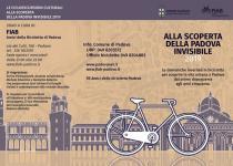 Alla scoperta della Padova Invisibile 2019