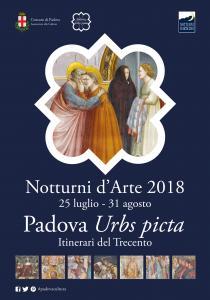 NOTTURNI D'ARTE 2018. Padova Urbs picta