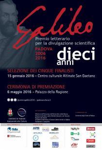 Premio Letterario Galileo 2016-Locandina