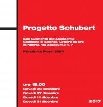 Progetto Schubert. Rassegna di concerti