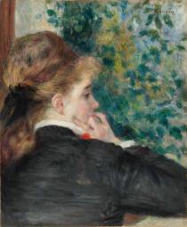 Renoir, pensierosa