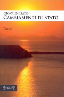 """Copertina del libro di poesie """"Cambiamenti di stato"""""""