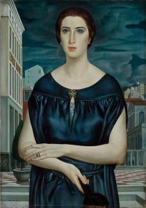 Ubaldo Oppi, La giovane sposa, Museo Eremitani